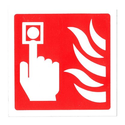 white call point id sign