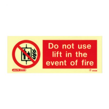 do not use lift sign