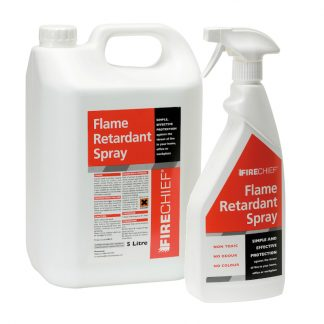 5l and 750ml flame retardant spray
