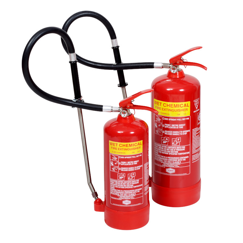 3lt and 6lt wet chemical fire extinguishers